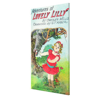 井戸およびKaber著美しいLillyの冒険 キャンバスプリント