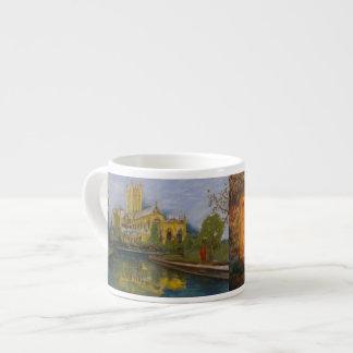 井戸のカテドラル- 2枚の絵画 エスプレッソカップ