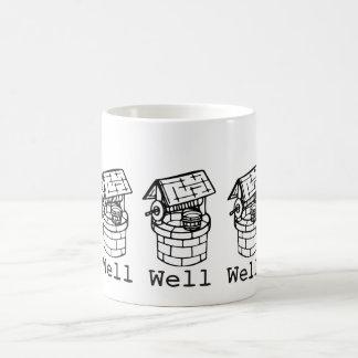 井戸の井戸の井戸 コーヒーマグカップ
