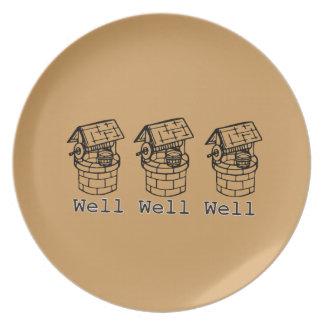 井戸の井戸の井戸 プレート