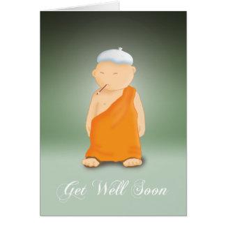 井戸の-修道士をすぐに得て下さい カード