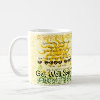 井戸を、あります私の日光がすぐに得て下さい コーヒーマグカップ
