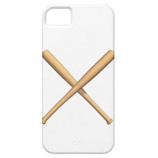 交差させた野球用バット iPhone SE/5/5s ケース
