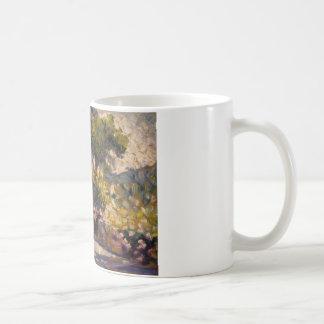 交差アンリーエドモンド開花した台地 コーヒーマグカップ