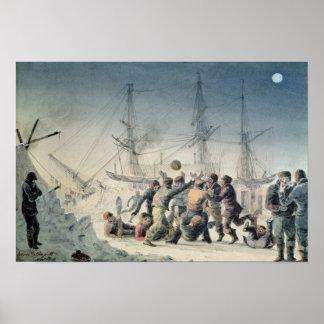 交換の旅行の事件 ポスター