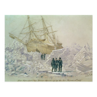 交換の旅行の事件: HMSの恐怖 ポストカード