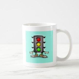 交通おもしろい コーヒーマグカップ