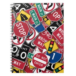 交通標識のデザイン ノートブック