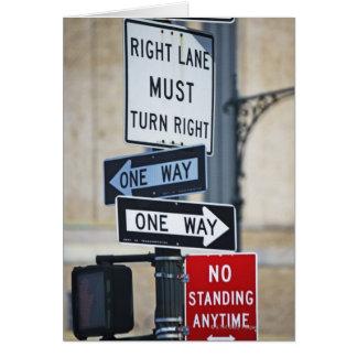 交通標識 カード