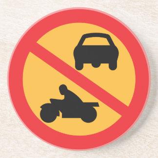 交通標識 コースター