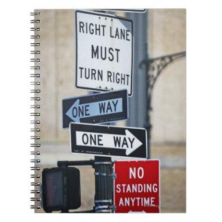 交通標識 ノートブック