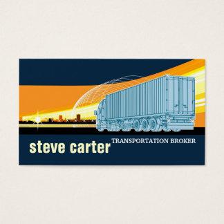 交通機関の仲介商のトラックの記号論理学の移動カード 名刺