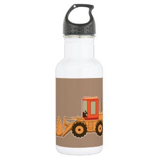 交通機関の重い装置Payloader -ブラウン ウォーターボトル