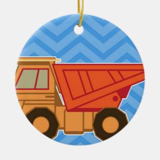 交通機関重い装置のダンプトラック セラミックオーナメント