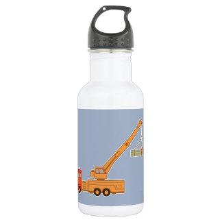 交通機関重い装置クレーン ウォーターボトル