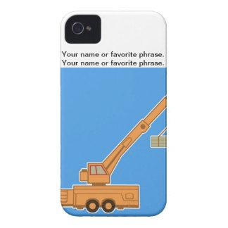 交通機関重い装置クレーン Case-Mate iPhone 4 ケース