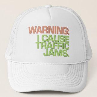 交通渋滞の帽子-色を選んで下さい キャップ