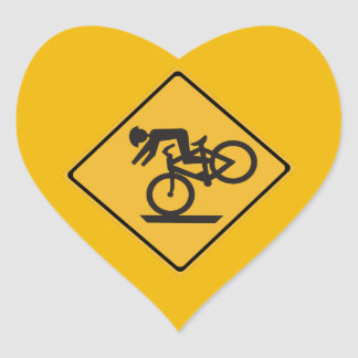 、交通警告標識推薦される、ヘルメット米国 ハート型シール