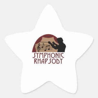 交響ラプソディ 星シール