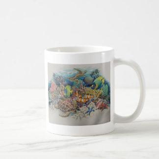 交響曲の珊瑚礁の魚 コーヒーマグカップ