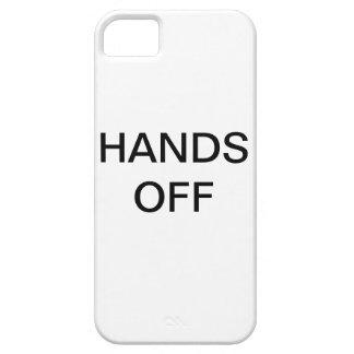 人々がちょうどあなたの物をつかむとき憎悪 iPhone SE/5/5s ケース