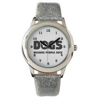 人々が吸うので犬 腕時計