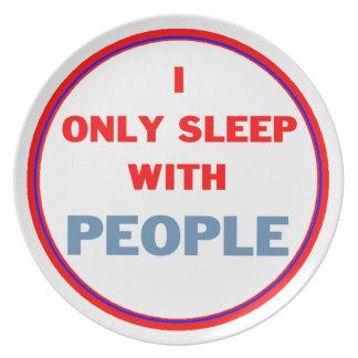 人々との睡眠 プレート