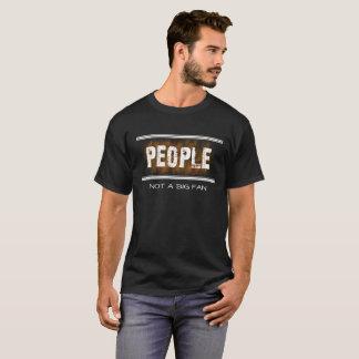 人々ない大きいファンのおもしろいで反社会的なTシャツ Tシャツ