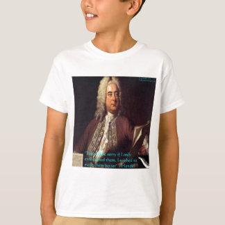 人々によりよい引用文ギフト及びカードをするHandel Tシャツ