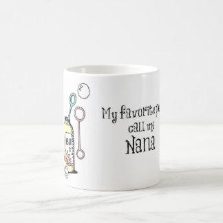 人々のナナのお気に入りのなマグ コーヒーマグカップ