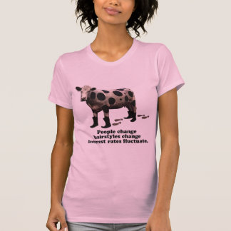 人々の変更-極秘牛 Tシャツ