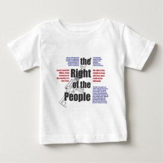 人々の権利 ベビーTシャツ