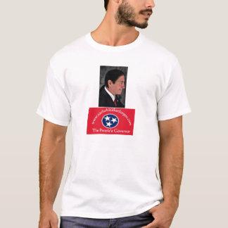 人々の知事のTシャツ Tシャツ