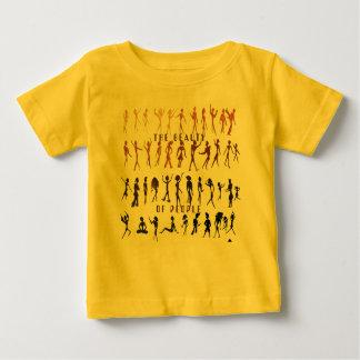 人々の美しい ベビーTシャツ