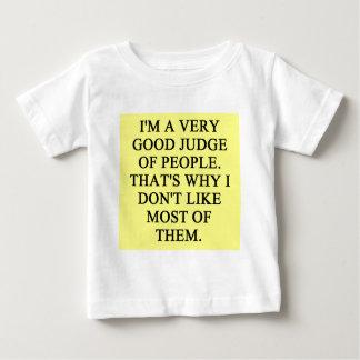人々の裁判官 ベビーTシャツ