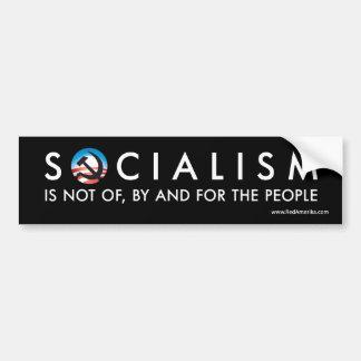 人々の、によるそしてのためのオバマ社会主義ない バンパーステッカー