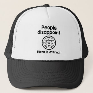 人々はピザをです永遠失望させます キャップ