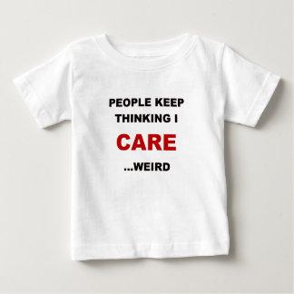 人々はI CARE.pngの考えを保ちます ベビーTシャツ