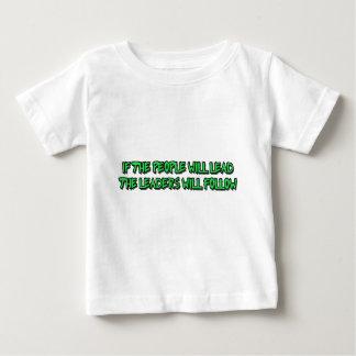 人々への力 ベビーTシャツ