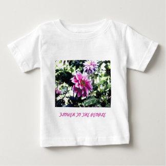 人々への花 ベビーTシャツ