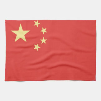 人々中華民国の旗 キッチンタオル