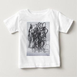 人々 ベビーTシャツ