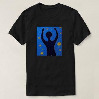 人および星 Tシャツ
