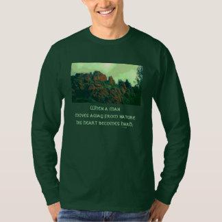 人および自然のlakotaの諺 tシャツ