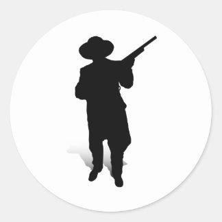 人および銃2 ラウンドシール
