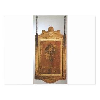 人および馬のための居酒屋の印の…エンターテイメント ポストカード