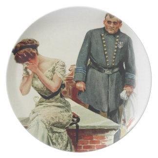 人が捨てられると結婚する場合のハリスンフィッシャーの女の子 プレート