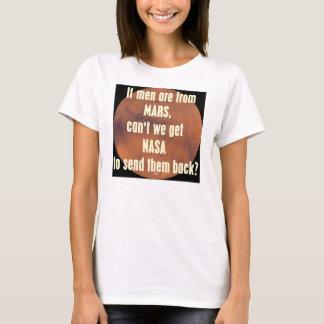 人が火星から…あれば Tシャツ