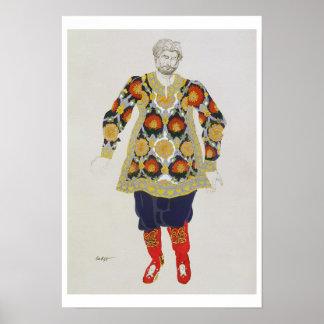 人のためのデザインを、Sadkoから、1917年着せて下さい(色 ポスター