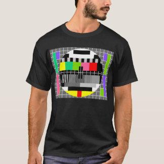 人のための「レトロのテレビ」のワイシャツ Tシャツ
